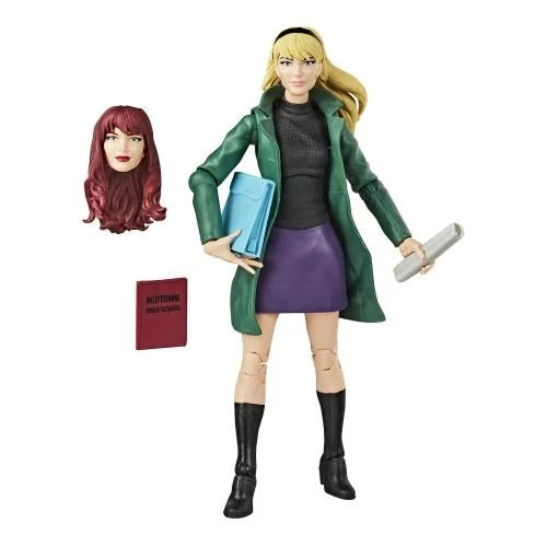 Action Figure Gwen Stacy: Homem Aranha (Spider-Man) (Legends Vintage) - Hasbro