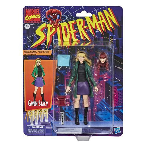Action Figure Gwen Stacy: Homem Aranha (Spider-Man) (Legends Vintage) - Hasbro