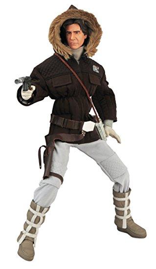 Boneco Han Solo (Hoth Gear): Star Wars Escala 1/4 - Diamond Select