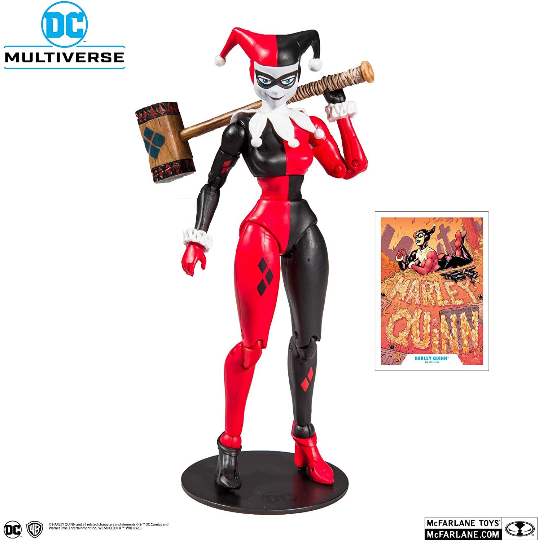 Action Figure Arlequina (Harley Quinn): DC Comics (Multiverse Artic) - McFarlene Toys