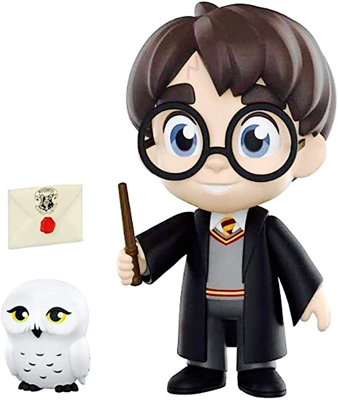 Boneco Harry Potter e Edwiges: Harry Potter (5 Star) - Funko