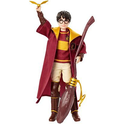 Action Figure Harry Potter Quadribol (Collector Doll): Harry Potter - Boneco Colecionável - Mattel