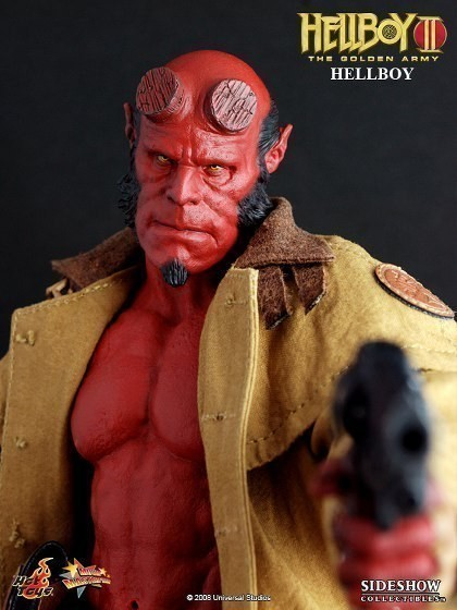 Action Figure Hellboy: Hellboy II O Exército Dourado Escala 1/6 - Hot Toys - CG