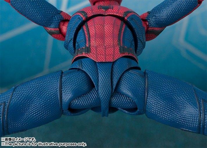 Boneco Homem-Aranha: De Volta Ao Lar (Spider-Man Homecoming) S.H.Figuarts - Bandai