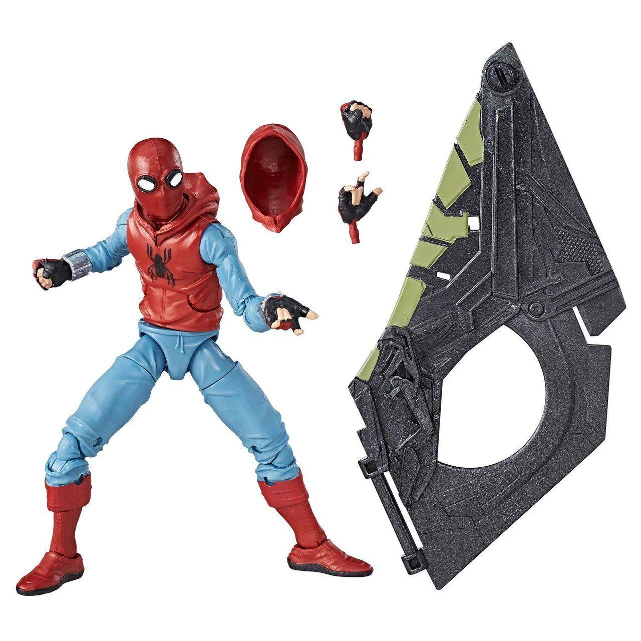 Boneco Homem-Aranha (Spider-Man): Homecoming (Homemade Suit) Marvel Legends Series - Hasbro (Apenas Venda Online)