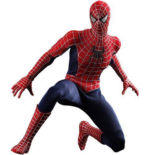 Boneco Homem-Aranha (Spider-Man): Homem-Aranha 3 (Spider-Man 3) (MMS143) Escala 1/6 - Hot Toys - CG