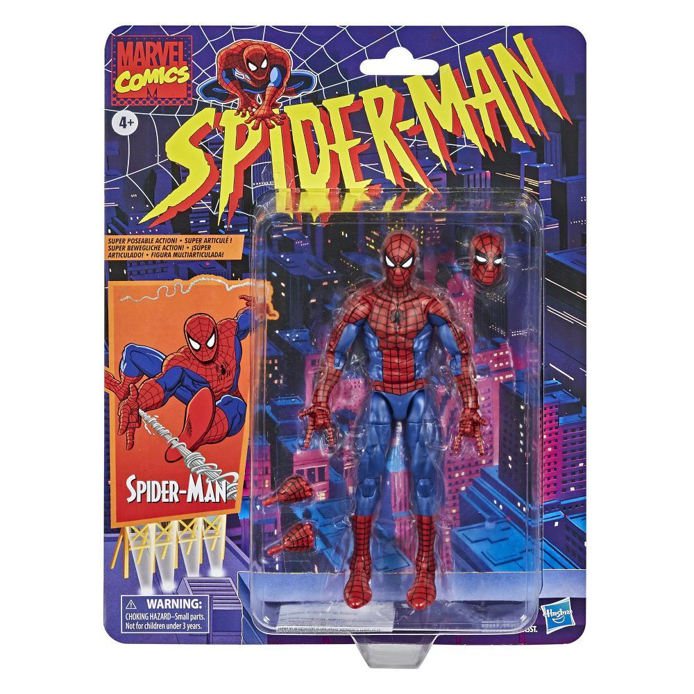 Action Figure Homem Aranha (Spider-Man): Homem Aranha (Spider-Man) (Legends Vintage) - Hasbro