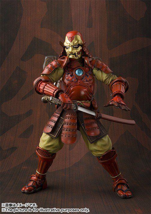 Boneco Homem de Ferro (Iron Man) Mark III Samurai: Meisho Manga Realization - Bandai - CD