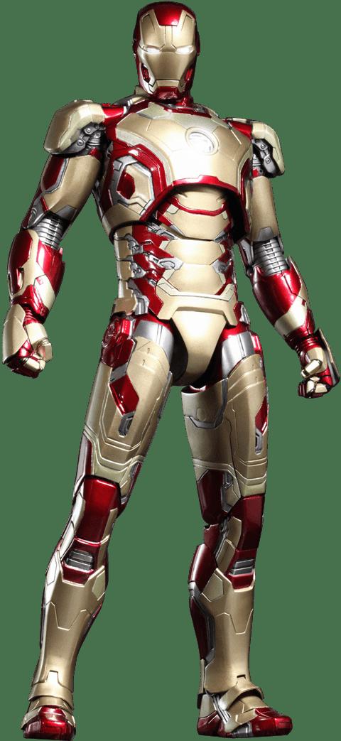Boneco Homem de Ferro (Iron Man) Mark XLII: Homem de Ferro 3 (Iron Man 3) Escala 1/6 (MMS197-D02) - Hot Toys