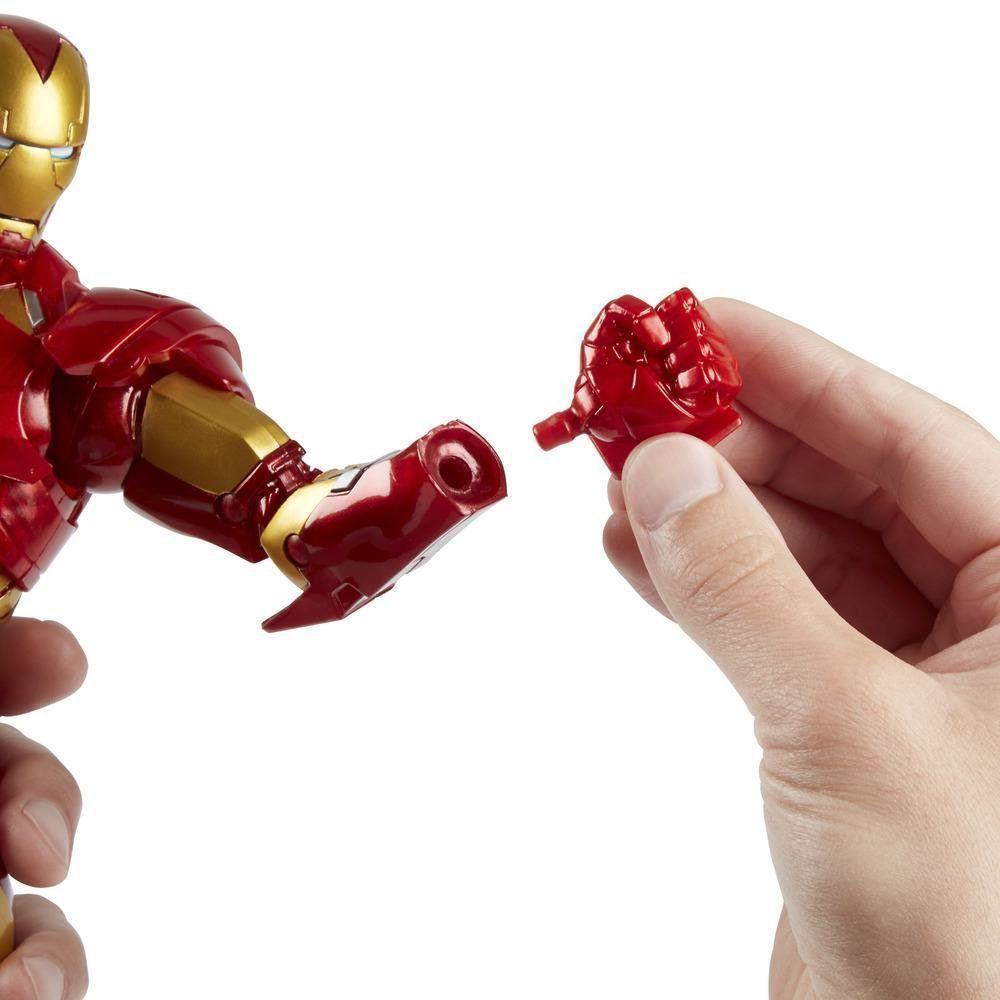 Boneco Homem de Ferro (Iron Man): Marvel Legends Series - Hasbro