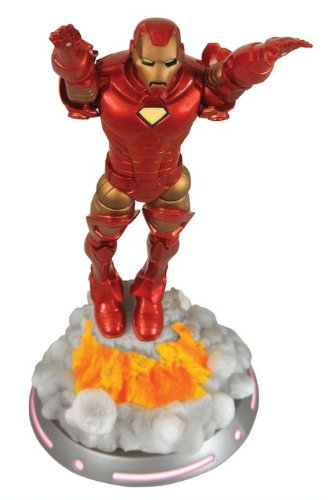 Boneco Homem de Ferro (Iron Man) Voando: Marvel Select - Diamond Select