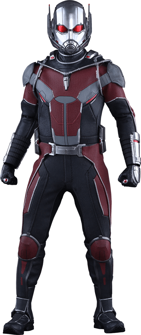 Action Figure Homem Formiga (Ant-Man): Capitão América Guerra Civil Escala 1/6 (MMS362) - Hot Toys