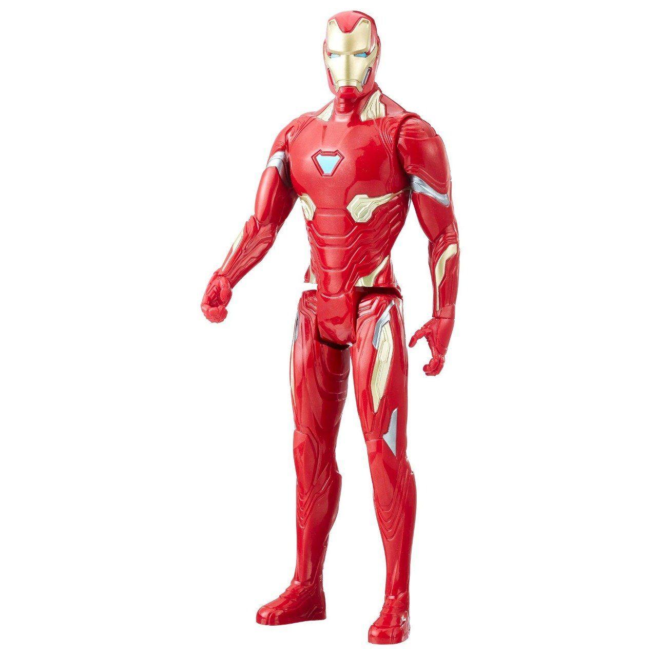 Boneco Homen de Ferro ( Iron Man ) ( Titan Hero Series ): Vingadores Guerra Infinita (Avengers: Infinity War) - Hasbro