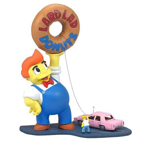 Boneco Homer Simpson (Lard Lad) Deluxe Box Set: Os Simpsons (The Simpsons) - McFarlane - CG
