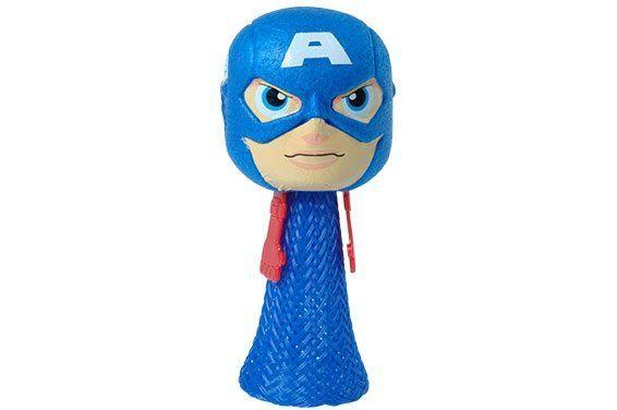 Boneco Hopping Headz Capitão América: Vingadores (Avengers) - Candide