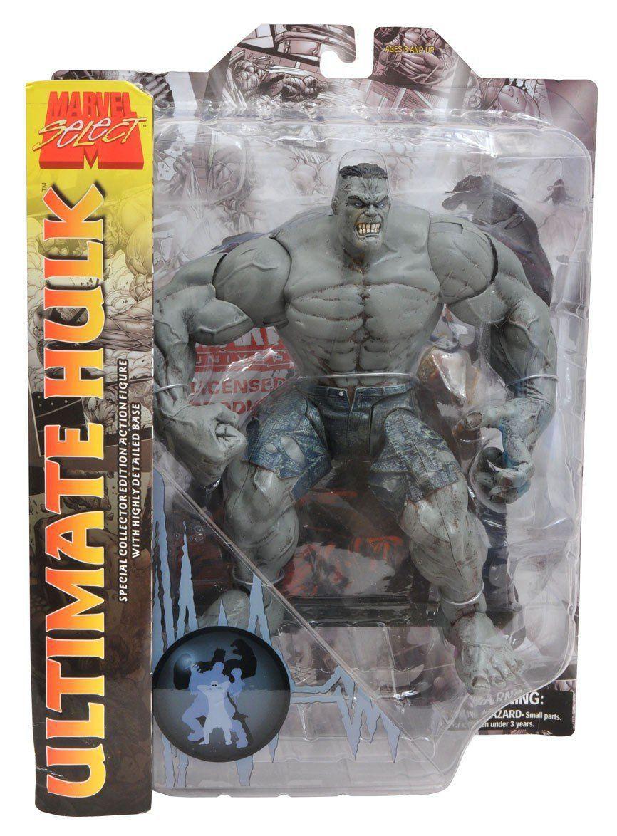 Boneco Hulk Ultimate: Marvel Select - Diamond Select