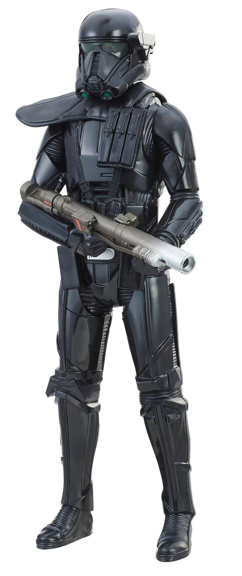 Boneco Imperial Death Trooper (Duelo Eletrônico): Star Wars - Hasbro