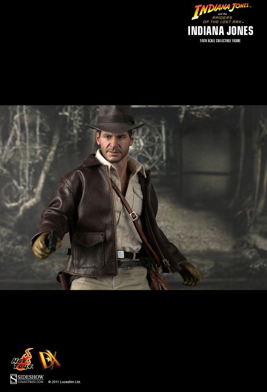 Boneco Indiana Jones: Indiana Jones e Os Caçadores da Arca Perdida (Raiders of the Lost Ark) Escala 1/6 (DX05) - Hot Toys - CG