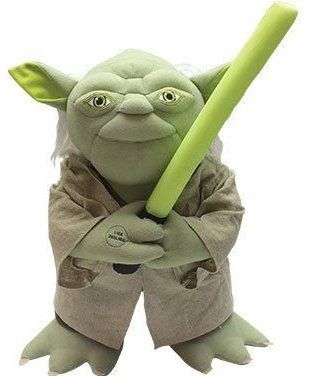 Boneco Interativo Mestre Yoda: Star Wars - Candide