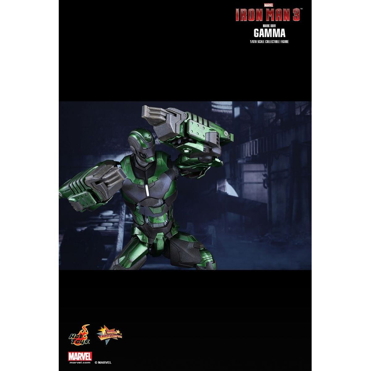 Boneco Iron Man Mark XXVI Gamma: Homem de Ferro 3 (Iron Man 3) Exclusive Escala 1/6 - Hot Toys