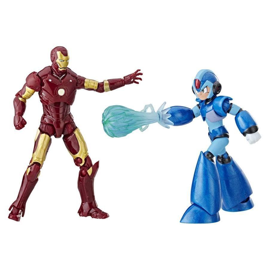 Boneco Iron Man vs Mega Man X - Marvel vs Capcom Infinite - Hasbro
