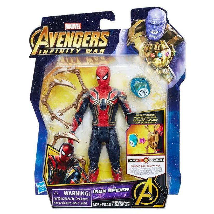 Boneco Iron Spider: Vingadores Guerra Infinita (Avengers Infinity War) Marvel - Hasbro