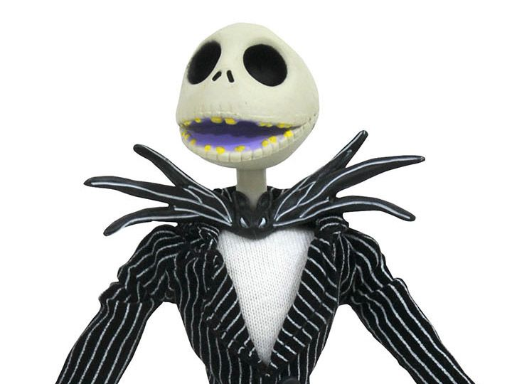 Boneco Jack Skellington (Silver Anniversary): The Nightmare Before Christmas - Diamond Select (Apenas Venda Online)