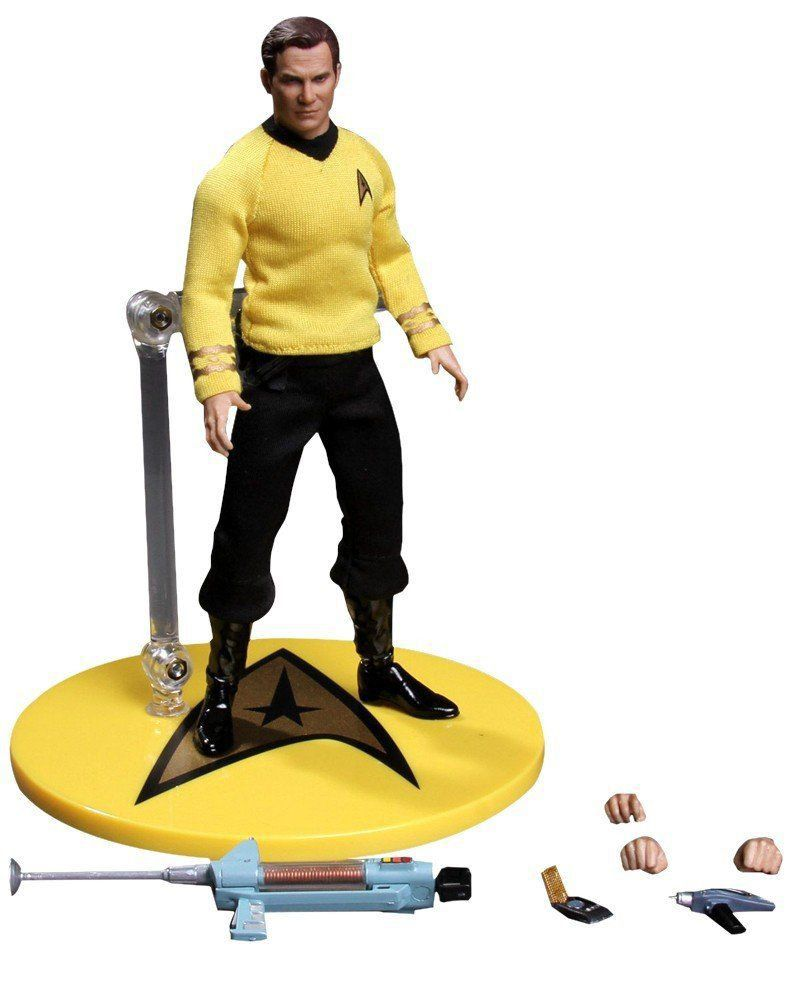 Boneco James T. Kirk: Star Trek One:12 Collective Escala 1/12 - Mezco - CD