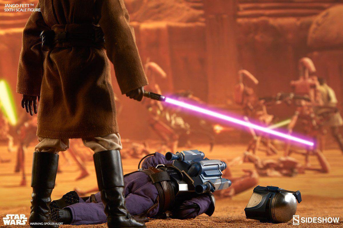 Boneco Jango Fett: Star Wars Exclusive Escala 1/6 - Sideshow  - Toyshow Geek e Colecionáveis Tudo em Marvel DC Netflix Vídeo Games