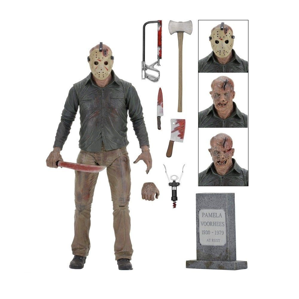 Boneco Jason: Sexta-Feira 13 (Friday the 13th) Part 4 Capítulo Final - Neca