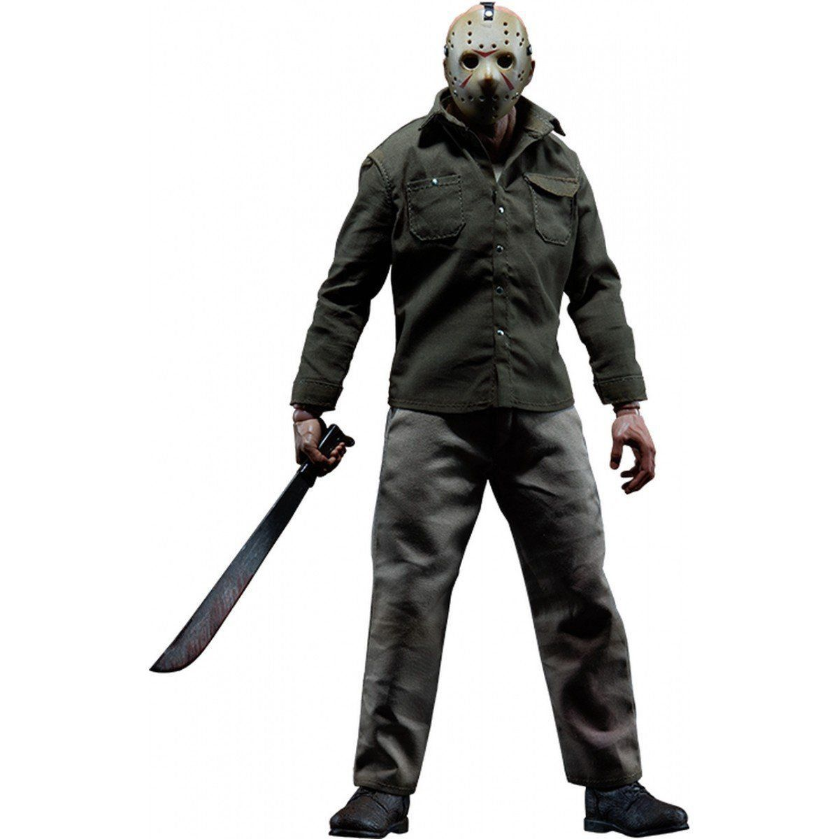 Boneco Jason Voorhees: Sexta-Feira 13 (Friday The 13th) Escala 1/6 - Sideshow - CD