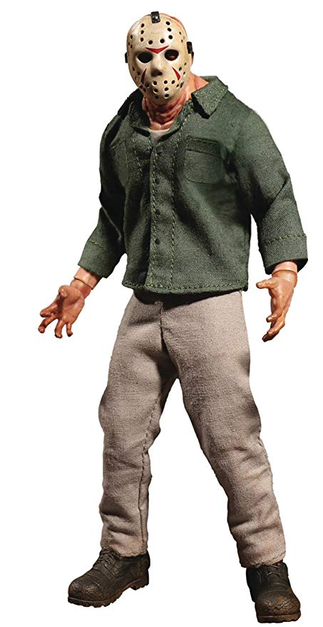 Action Figure Jason Voorhees: Sexta-Feira 13 (Friday the 13th) (Parte III) (Escala 1/12) (One:12 Collective Figures) Boneco Colecionável - Mezco