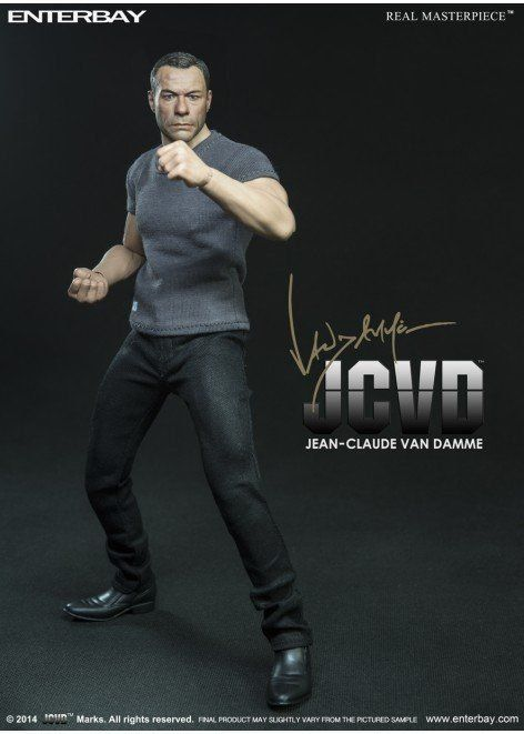 Boneco Jean-Claude Van Damme Escala 1/6 - Enterbay