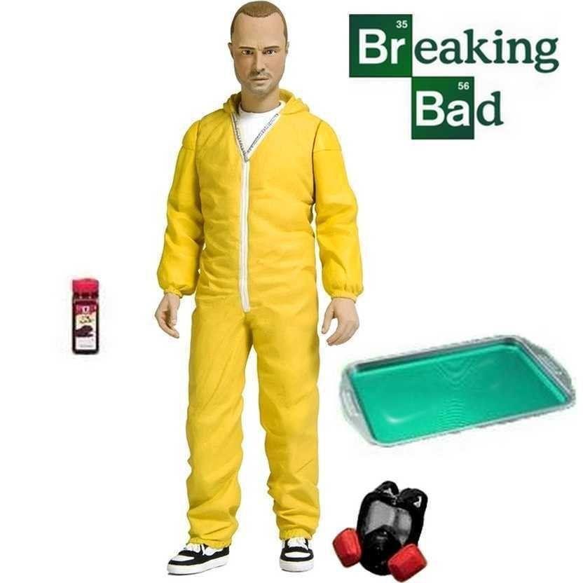 Action Figure Jesse Pinkman (Yellow Hazmat): Breaking Bad - Mezco