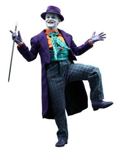 Action Figure Joker (Coringa): Batman 1989 (DX08) Escala 1/6 - Hot Toys