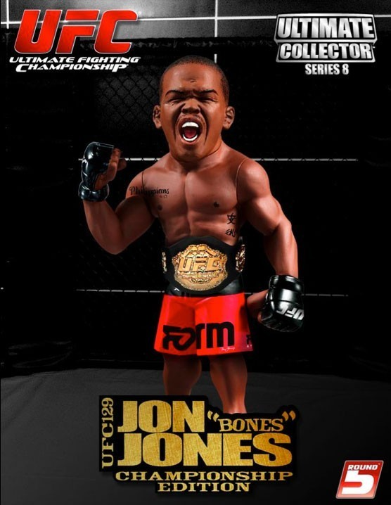 Boneco Jon Jones (Bones): UFC 129 Ultimate Collector