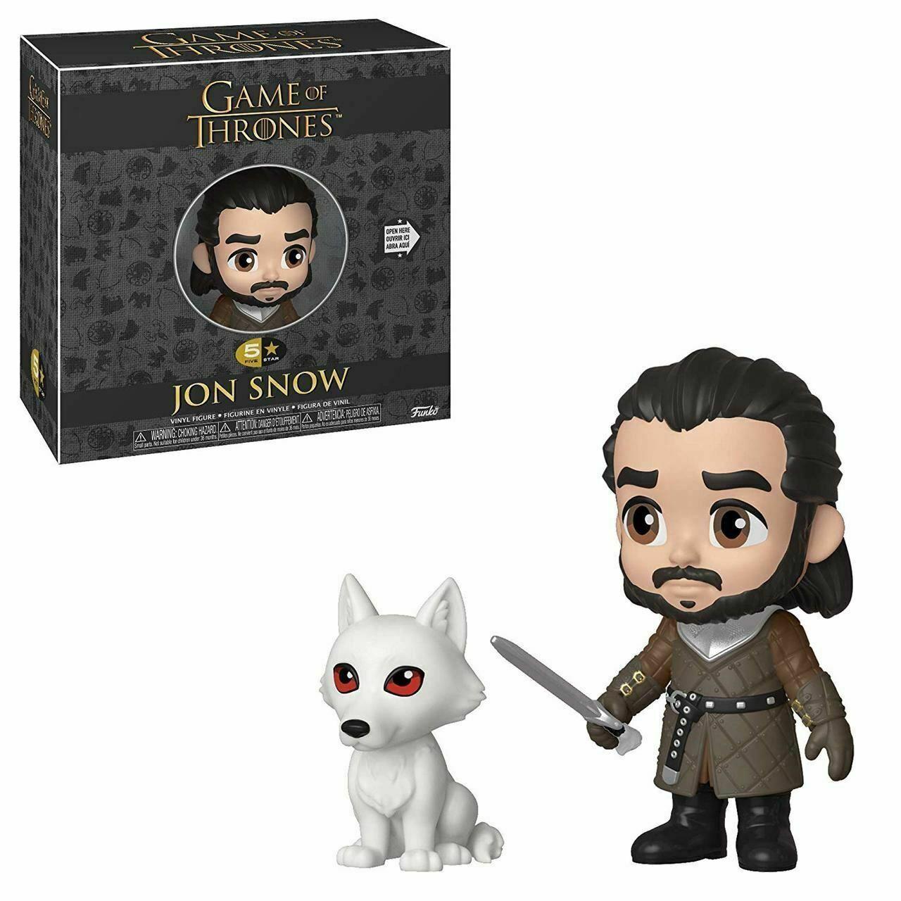 Funko Boneco Jon Snow: Game of Thrones (5 Star) - Funko