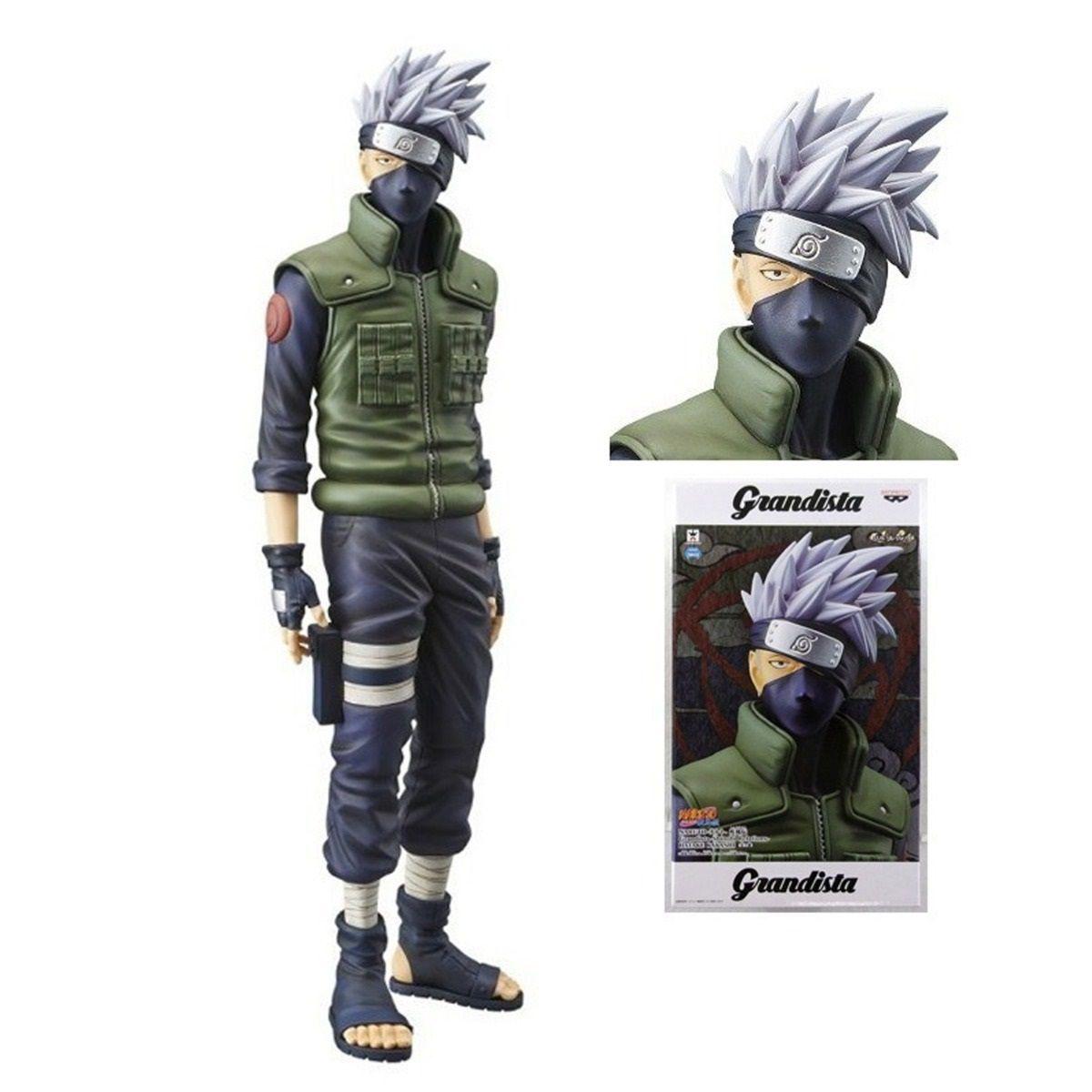 Action Figure Kakashi Hatake: Naruto (Grandista) Boneco Colecionável - Banpresto