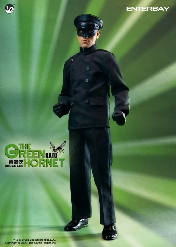 Boneco Kato (Bruce Lee): O Besouro Verde (The Green Hornet) Escala 1/6 - Enterbay - CG