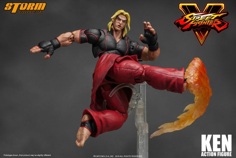 Boneco Ken: Street Fighter V Escala 1/12 - Storm Collectibles
