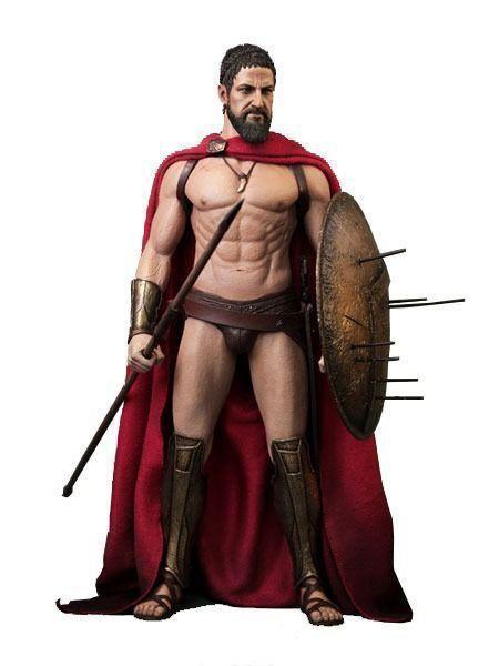 Boneco King Leonidas: 300 1/6 - Hot Toys