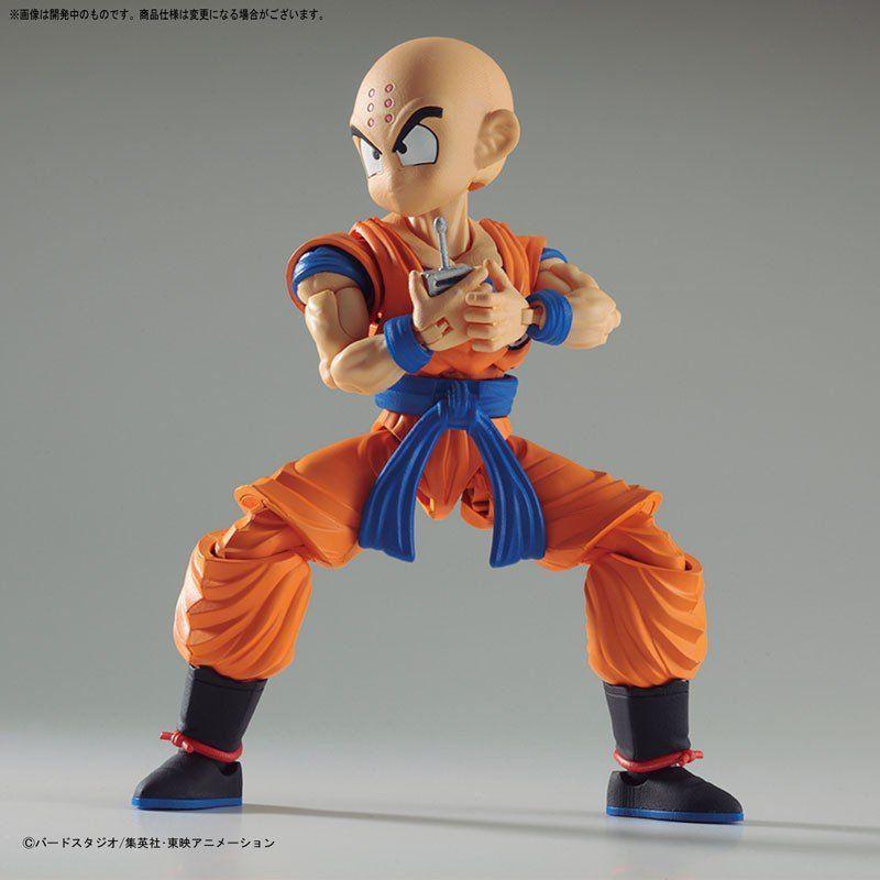 Boneco Kuririn (Krillin): Dragon Ball Z Figure-Rise - Bandai