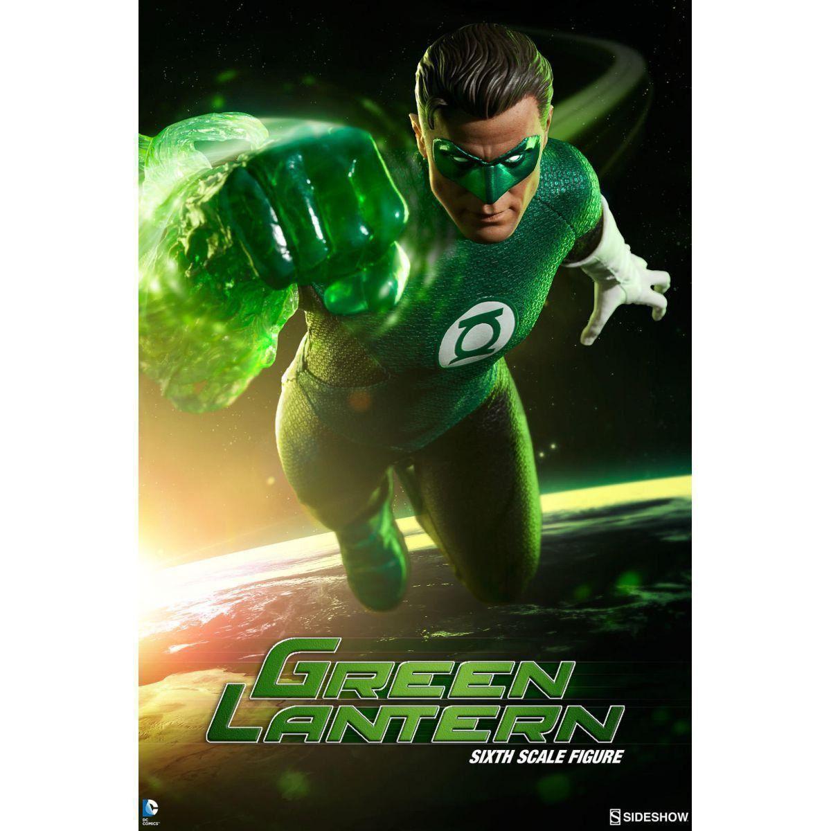 Boneco Lanterna Verde (Green Lantern) DC Comics Escala 1/6 - Sideshow