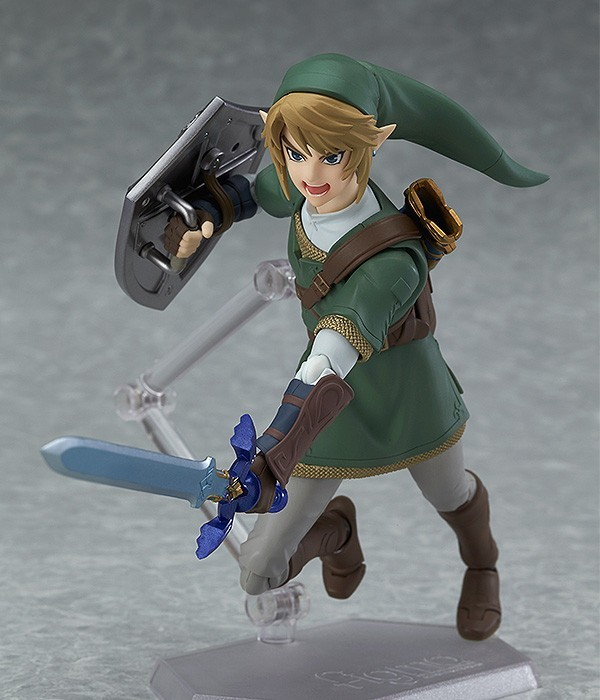 Boneco Link: The Legend Of Zelda: Twilight Princess #319 Figma - Good Smile Company