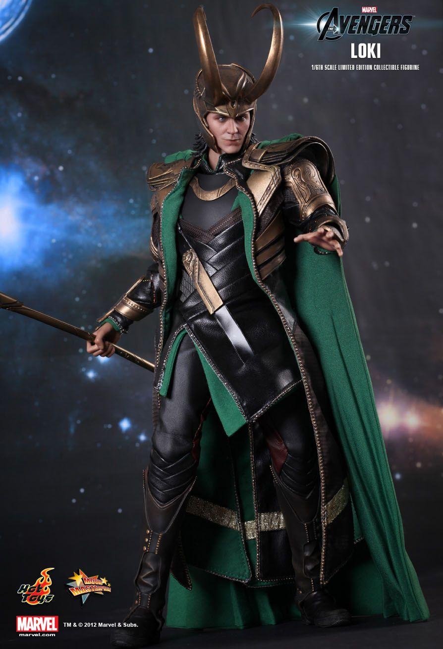 Action Figure Loki: Os Vingadores (The Avengers) Escala 1/6 (MMS176) - Hot Toys