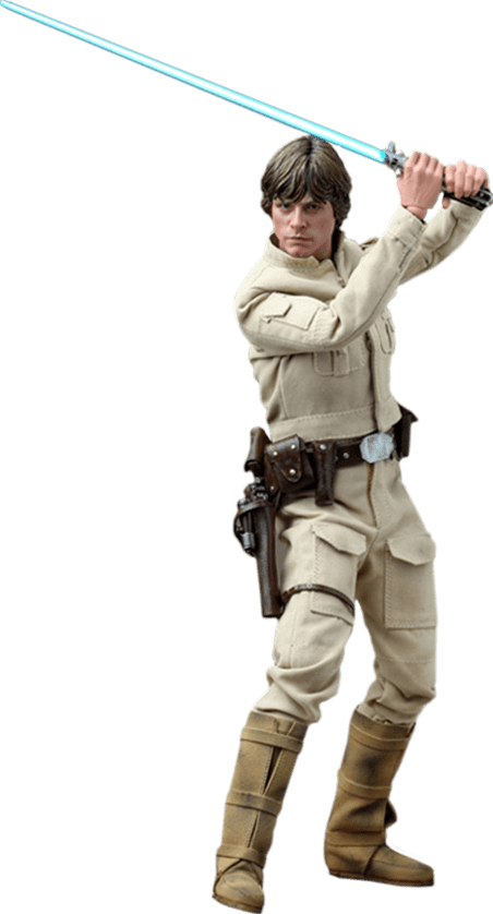 Boneco Luke Skywalker (Bespin Outfit): Star Wars O Império Contra-Ataca (The Empire Strikes Back) Escala 1/6 (DX07) - Hot Toys