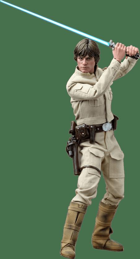 Action Figure Luke Skywalker (Bespin Outfit): Star Wars O Império Contra-Ataca (The Empire Strikes Back) Escala 1/6 (DX07) - Hot Toys