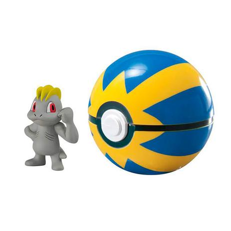 Boneco Machop Ultra Ball: Pokémon - Sunny