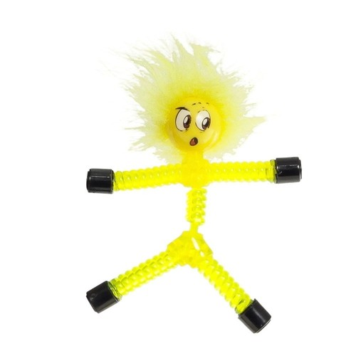 Boneco Magno-z: Pés e Mãos Magnéticos (Amarelo) -  DTC