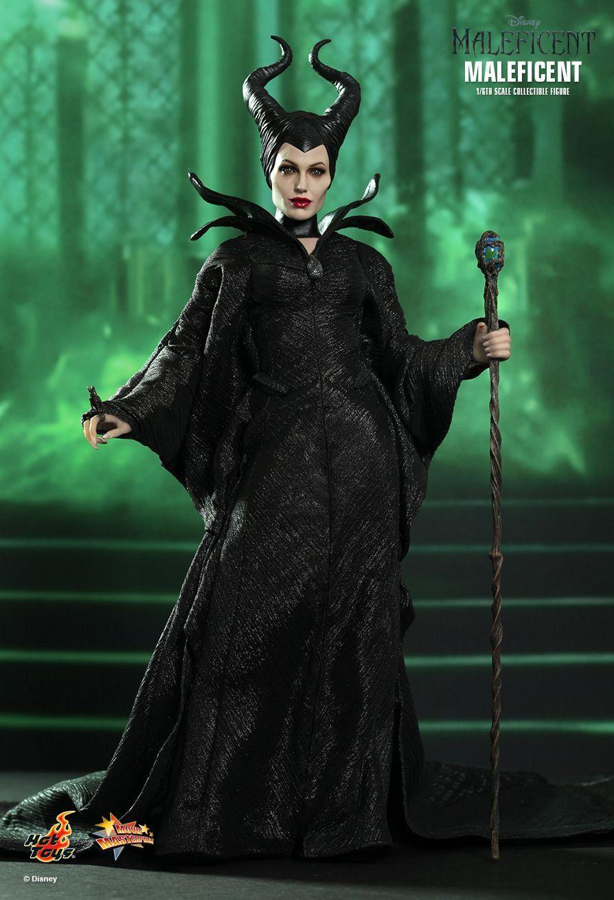 Boneco Malévola (Maleficent): Malévola (Maleficent) Escala 1/6 - Hot Toys - CG